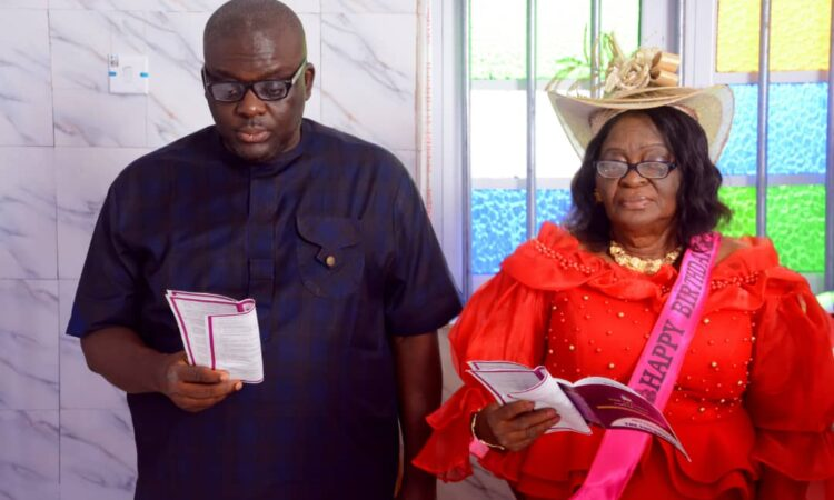 Mrs. Clara Udeze Marks 75th Birthday With Family In Her Ogbaru Home
