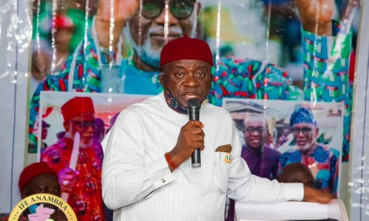 Chief Ben Etiaba Mobilizes Support For Governor Akeredolu's Re-election